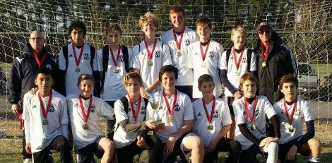 U15 Boys Win CASL Winter Blast!