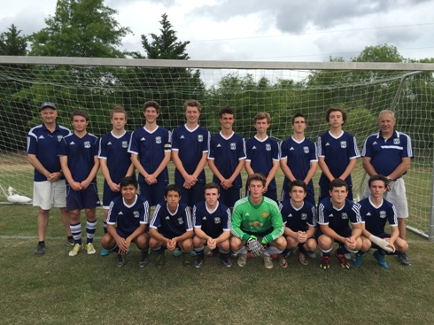 Storm Boys Receive High School Recognition