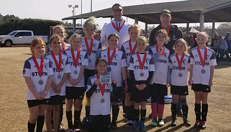 2008 Girls coached by Miles Nowarah